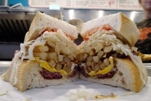 "The Primanti Sandwich is known simply as ""The Legend."""