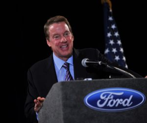 "CEO Bill Ford has been the face of ""Ford fights back."""