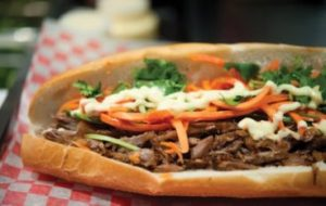 Bahn Mi, aka the official food of Toronto.