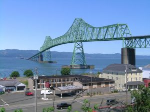 Our Oregon coast trip ends in Astoria, but the Evergreen state of Washington is on the other side of the  Columbia River Bridge.