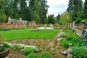 Formal garden in Lakewood.