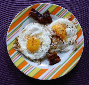 A public relations expert made bacon-and-eggs a healthy breakfast