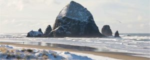 Cannon Beach's picturesque Haystack Rock