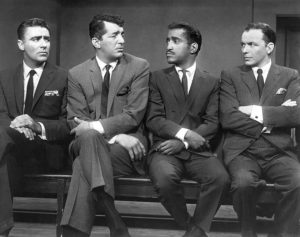 The original Ocean's 11 starred the Rat Pack.