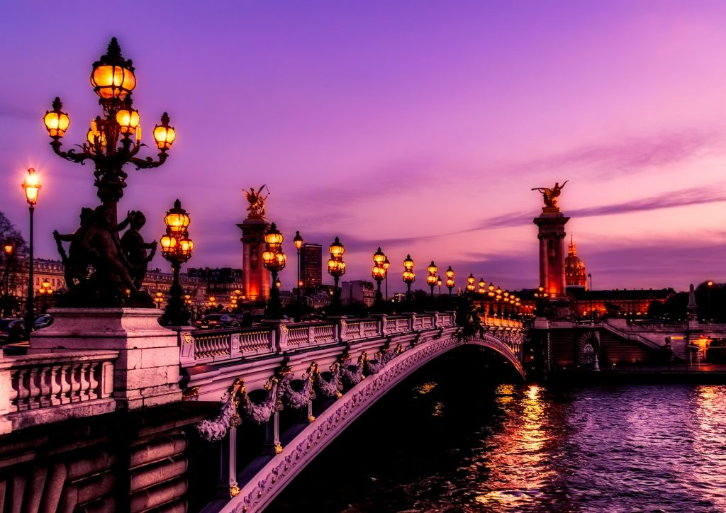 The World's Most Beautiful Sunsets: Paris, France