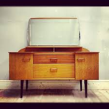 Mid century modern vintage dressing table