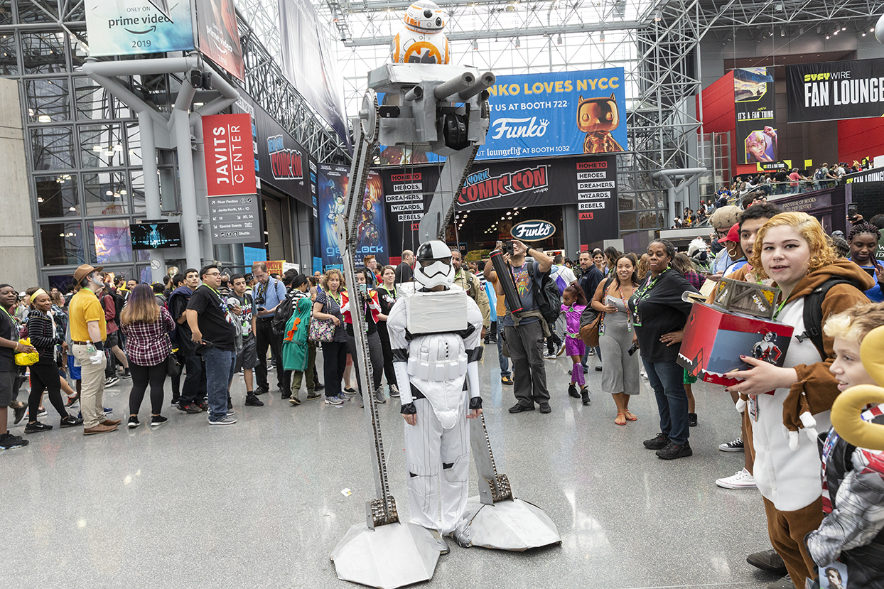 Comic Con 2019 New York 2018 New York Comic Con one of the Best   Gildshire
