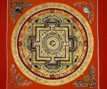 """Mandala"" is the Sanskrit word for 'circle'"