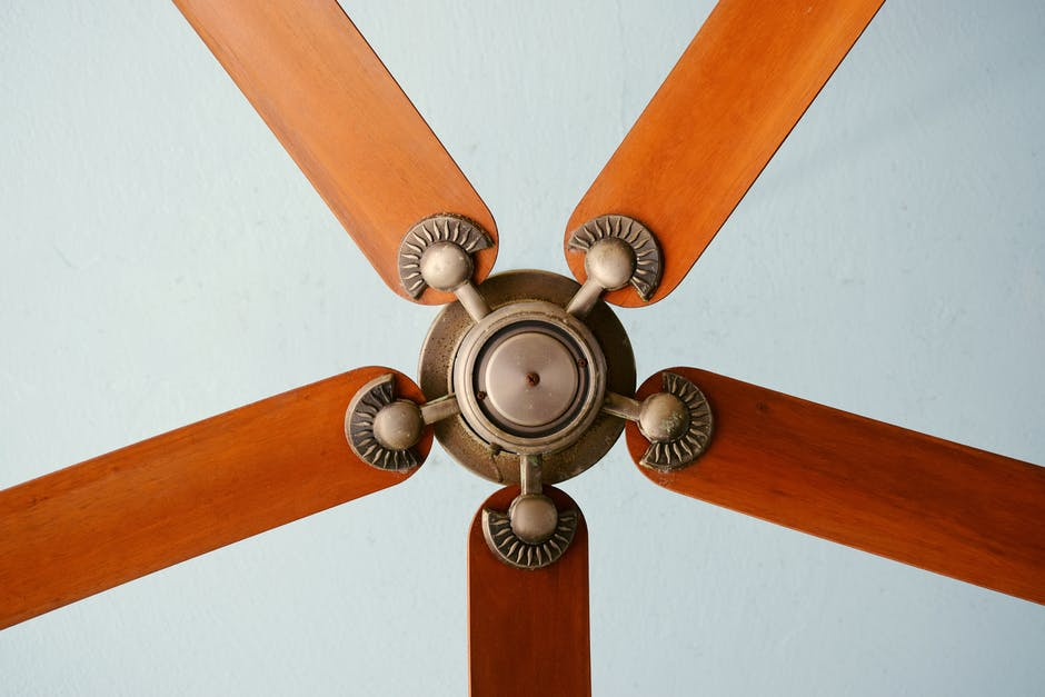 When the ceiling fan goes clockwise position, the air will be warmer.