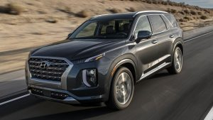 Hyundai's Palisade is a top-end SUV.