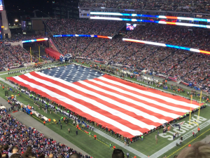 The Saints travel to Gillette Stadium to play the Pats.