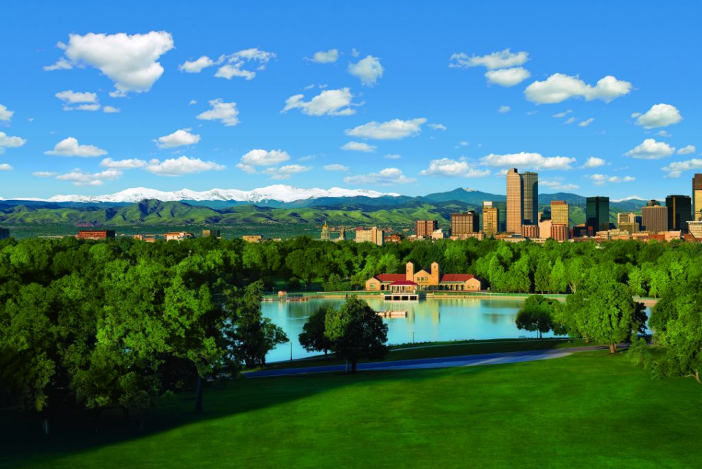 More green spaces, such as this one, are in Denver's future.