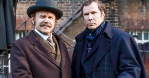 John C. Reilly and Will Ferrell made a sub-par movie in Holmes and Watson.