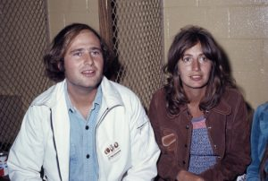 Rob Reiner and Penny Marshall during their time together..