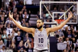 Nevada star forward Caleb Martin, who leads his Wolfpack to a Top Six ranking.