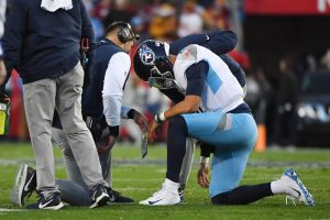 Whatever hopes the Titans have to keep their season alive rests on Marcus Mariota's health.
