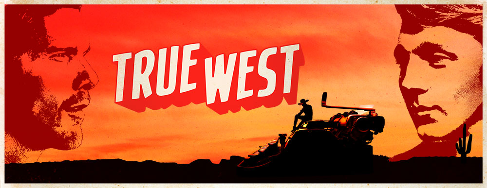 Ethan Hawke and Paul Dano in True West, opening this month on Broadway