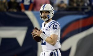 The Colts are long odds to make the Super Bowl, but Andrew Luck intends to change the narrative.
