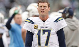 Philip Rivers has nine children and no Super Bowl appearances. He would like to close the gap this season.