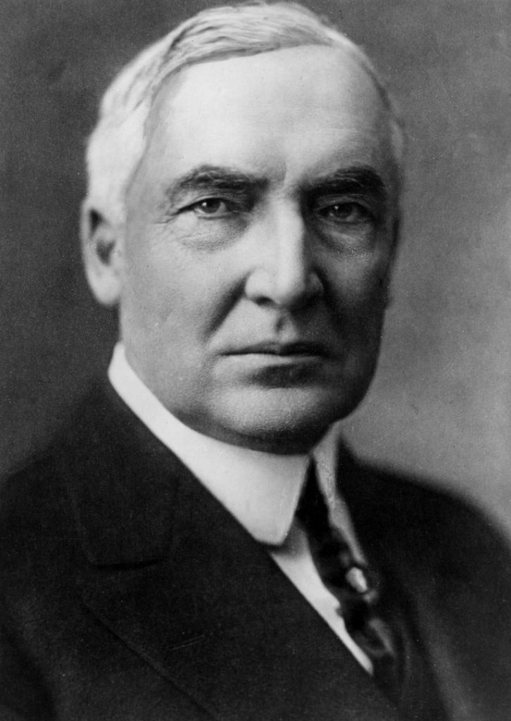 Gildshire's President's Day trivia recognizes Warren G. Harding, perhaps a better President than a card player.