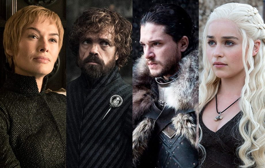 "Key cast members from ""Game of Thrones,"" the most prominent returner for spring TV."