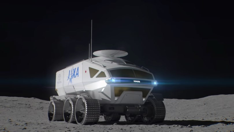 The proposed Toyota/Japan lunar rover.
