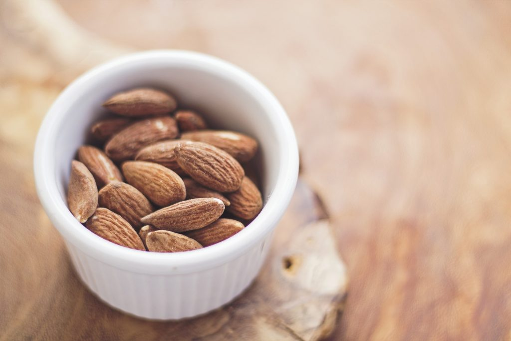 Almonds come from the Middle East and came to southern Europe by the 8th century.