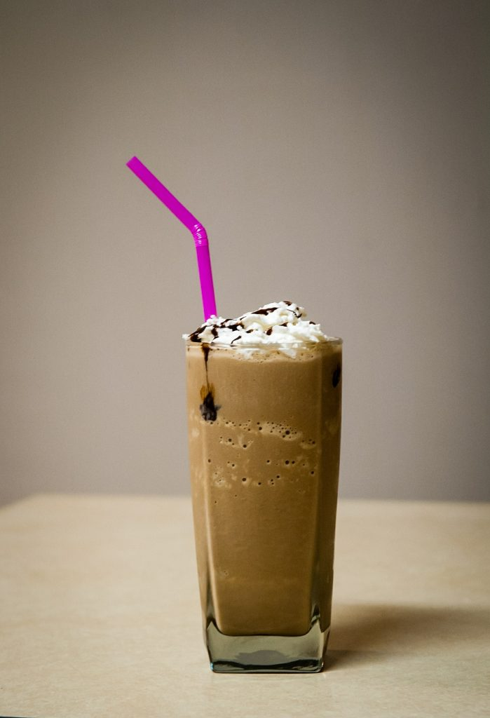 Nothing beats a classic chocolate milkshake.