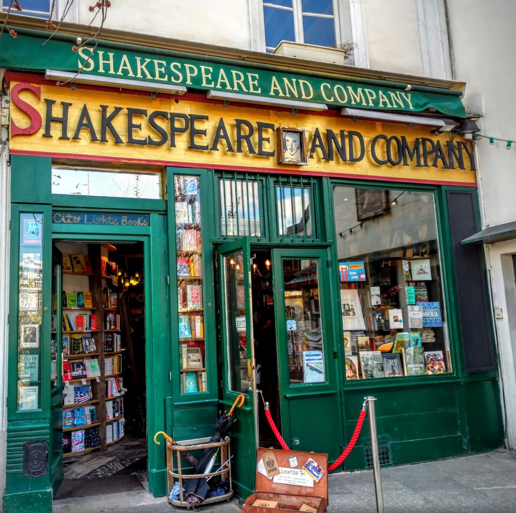 The original Shakespeare And Company opened in 1919.