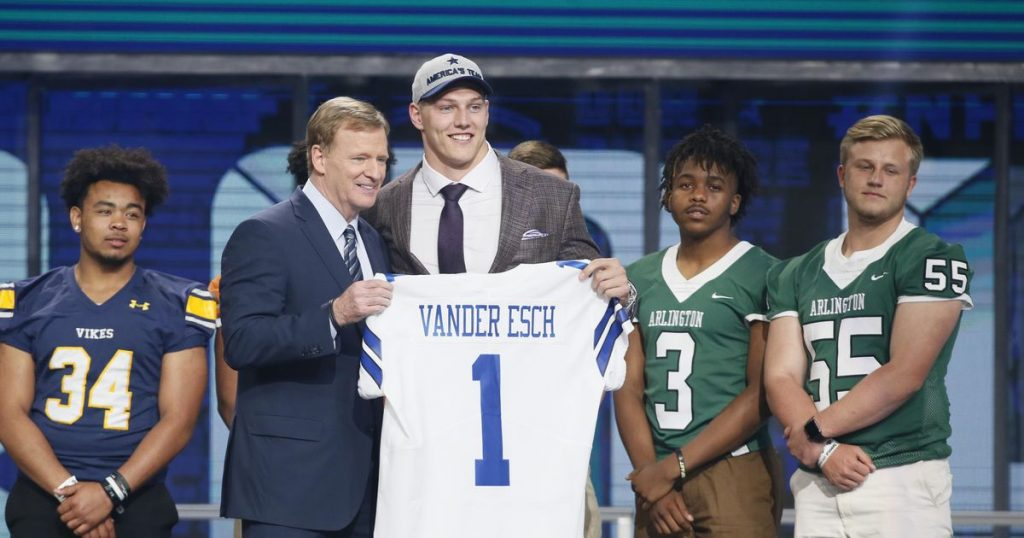 Dallas struck gold with Leighton Vander Esch in the NFL Draft first round last year. Can they duplicate their feat this year?