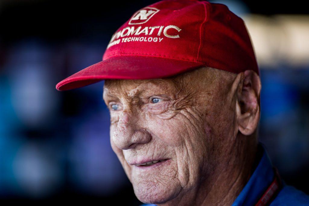 Race car driver Niki Lauda, 1949-2019.