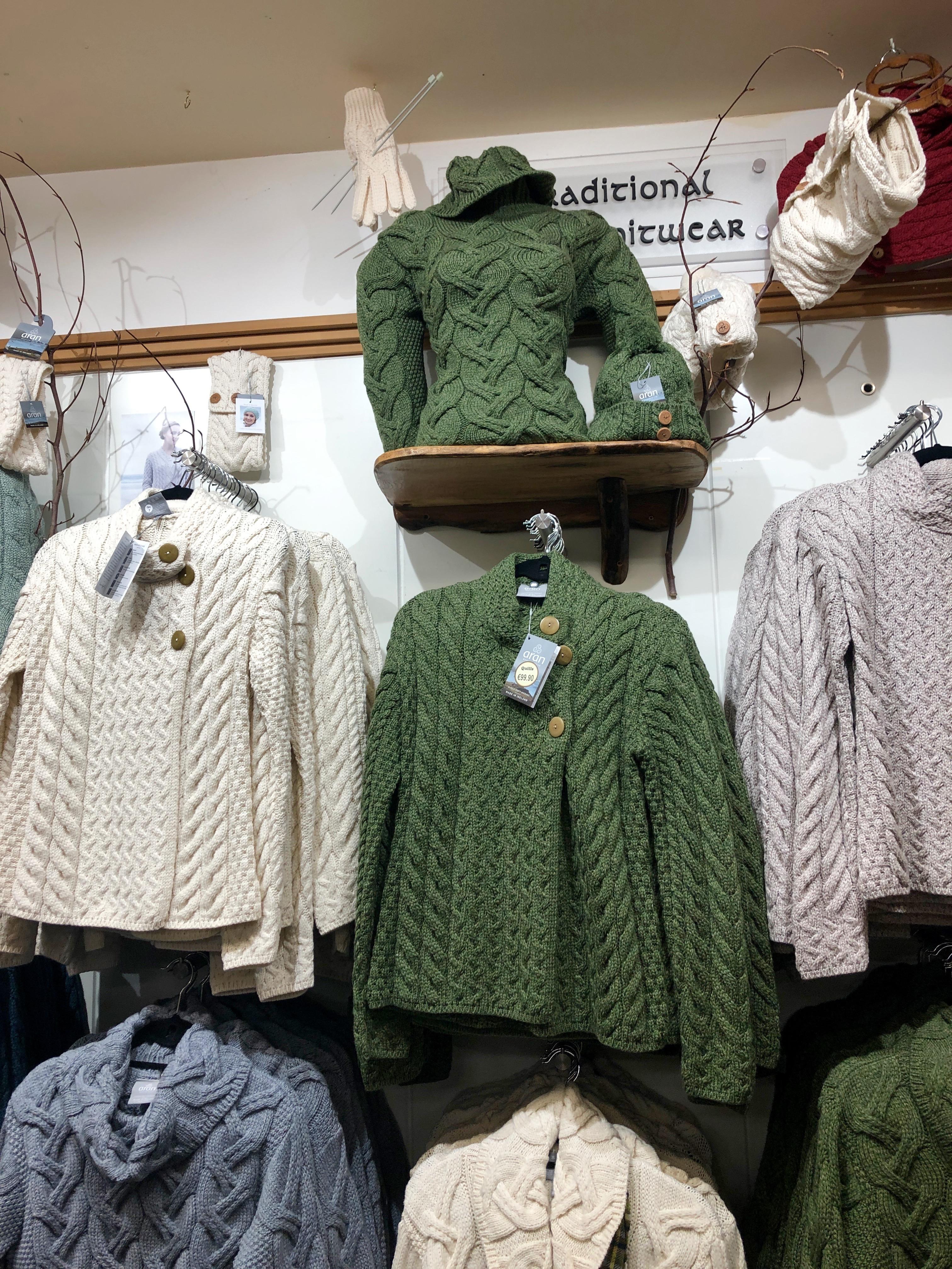 Aran Wool Sweaters: Traditional Irish Knitwear