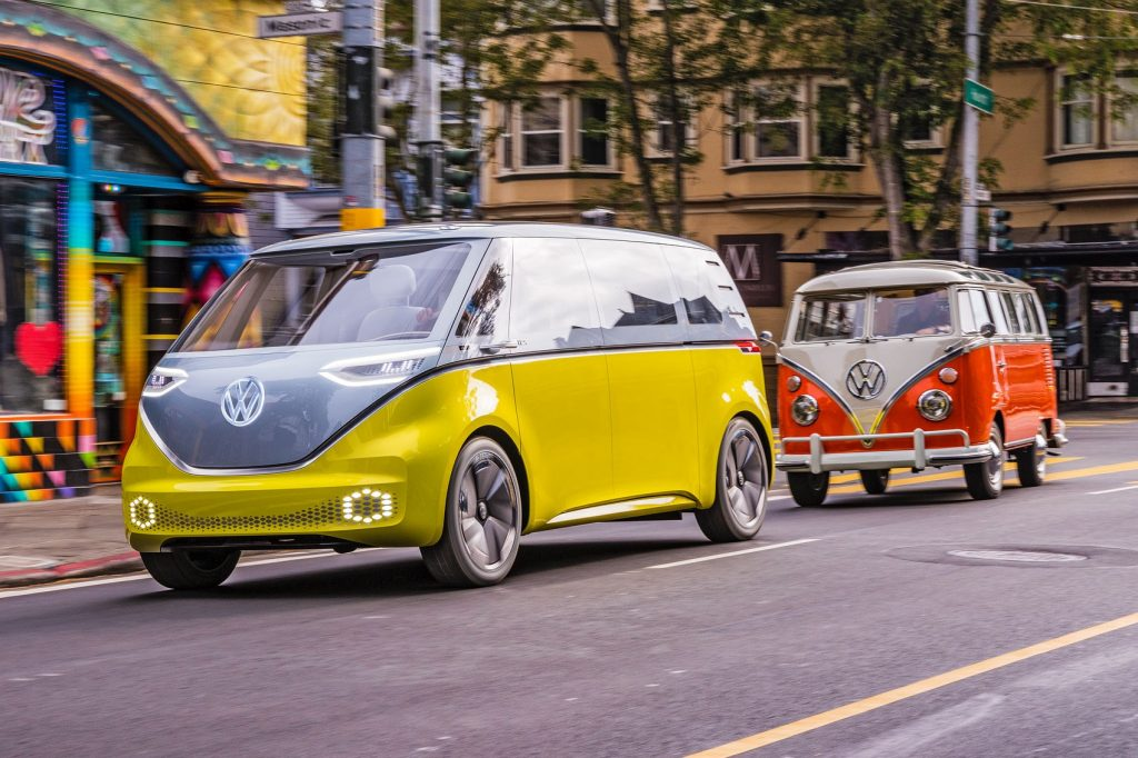 """""""Volkswagen's Dieselgate is in the past."""" That's the message behind the ad that features the I.D. Buzz."""