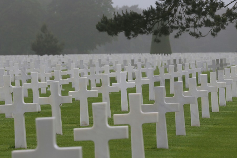 D-Day's enduring importance is fraught with these grave markers over the lost.