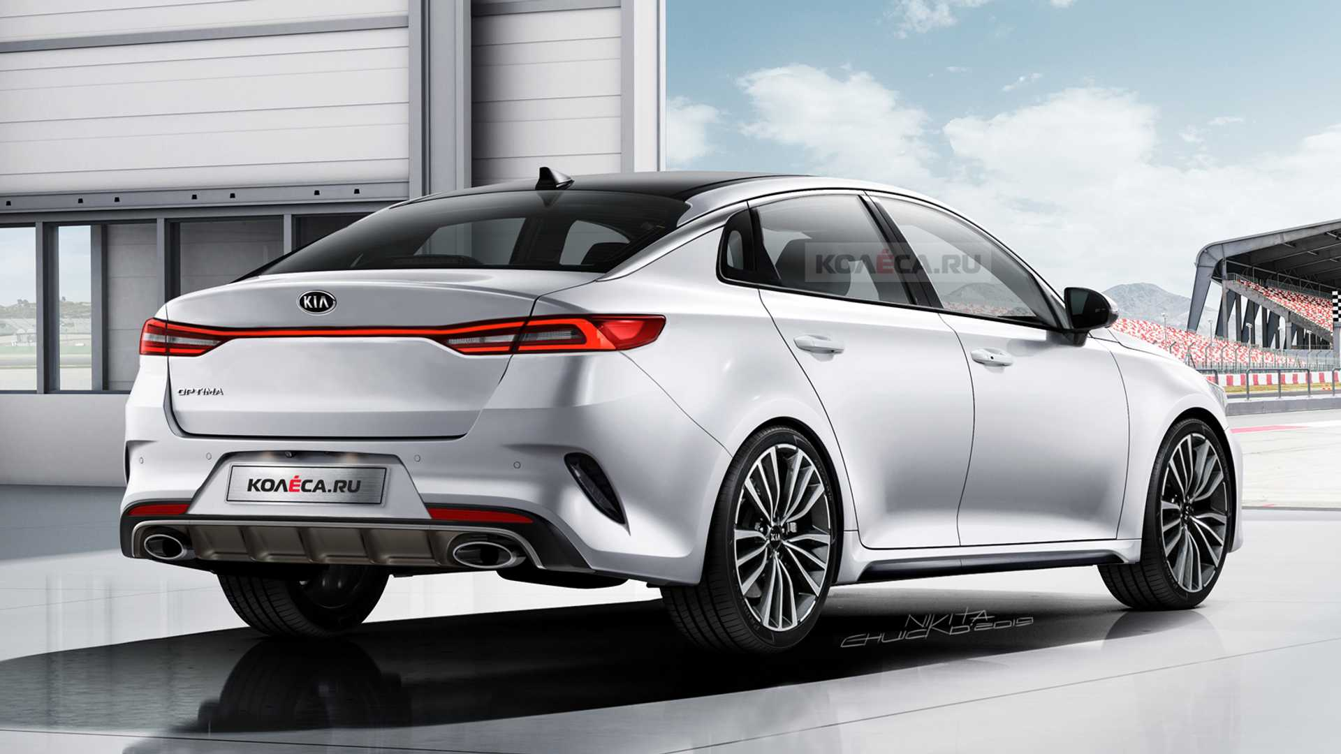 The Kia Optima Gets a Stylish Look for 2021