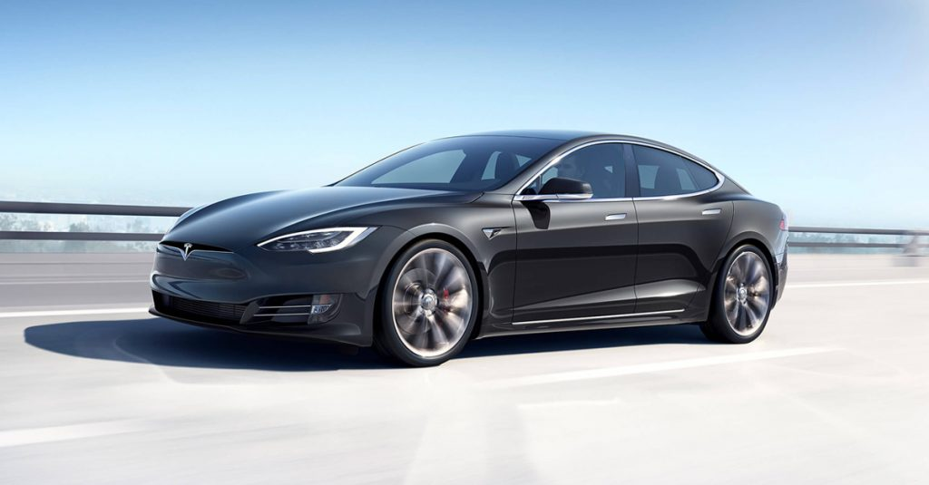 Tesla cut prices, including on this Model S.