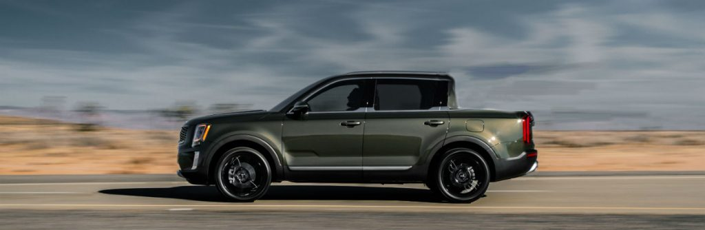 Will Kia's new pickup be a shortbed like this rendering?