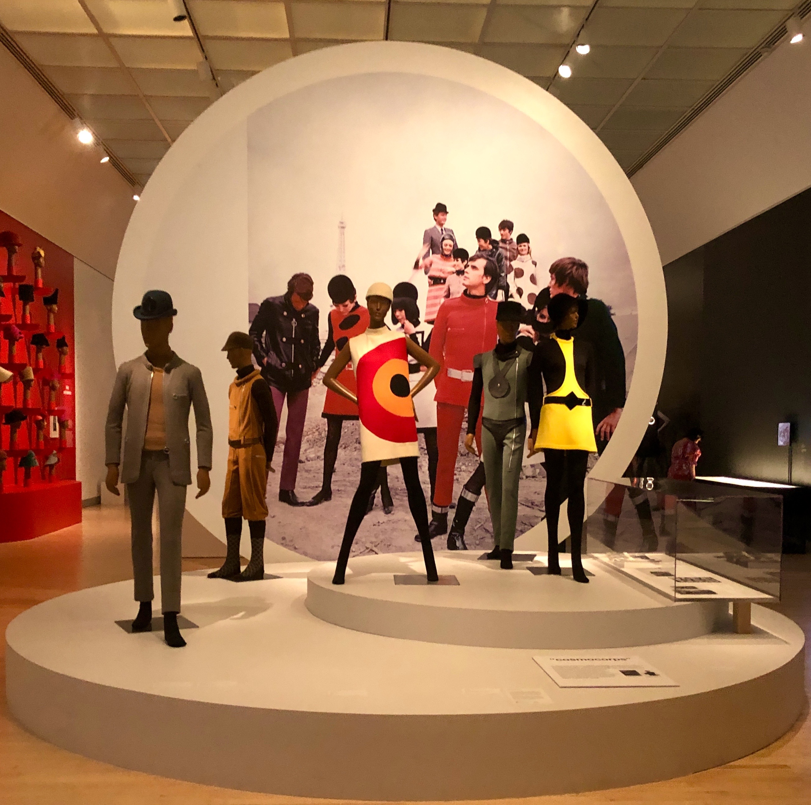 Pierre Cardin: Future Fashion at the Brooklyn Museum in New York (Photo: Ceara Rossetti)
