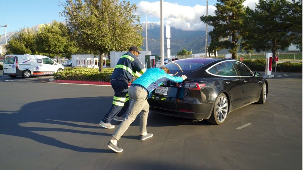 Tesla battery news occasionally on the road.