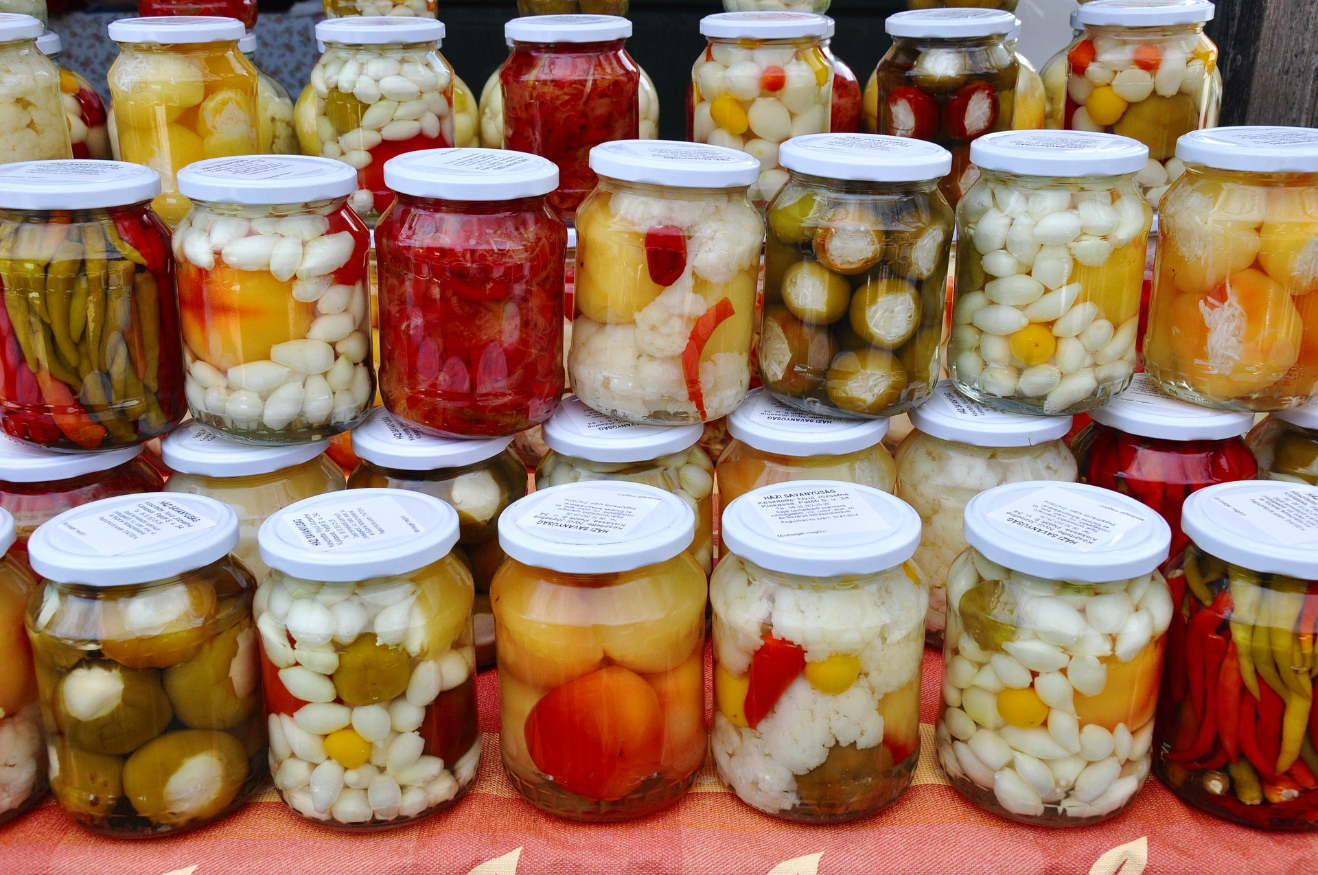 You can actually pickle just about anything, including celery, beets, Brussels sprouts, and tomatoes.