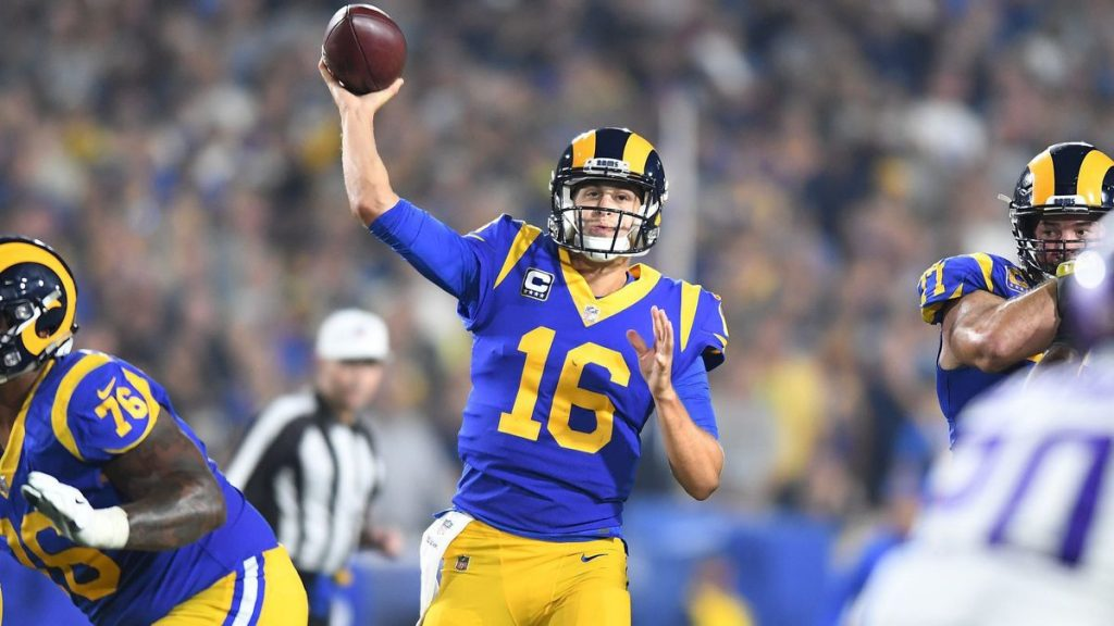 Questions facing the teams in the NFC West include a few about Rams' quarterback Jared Goff.