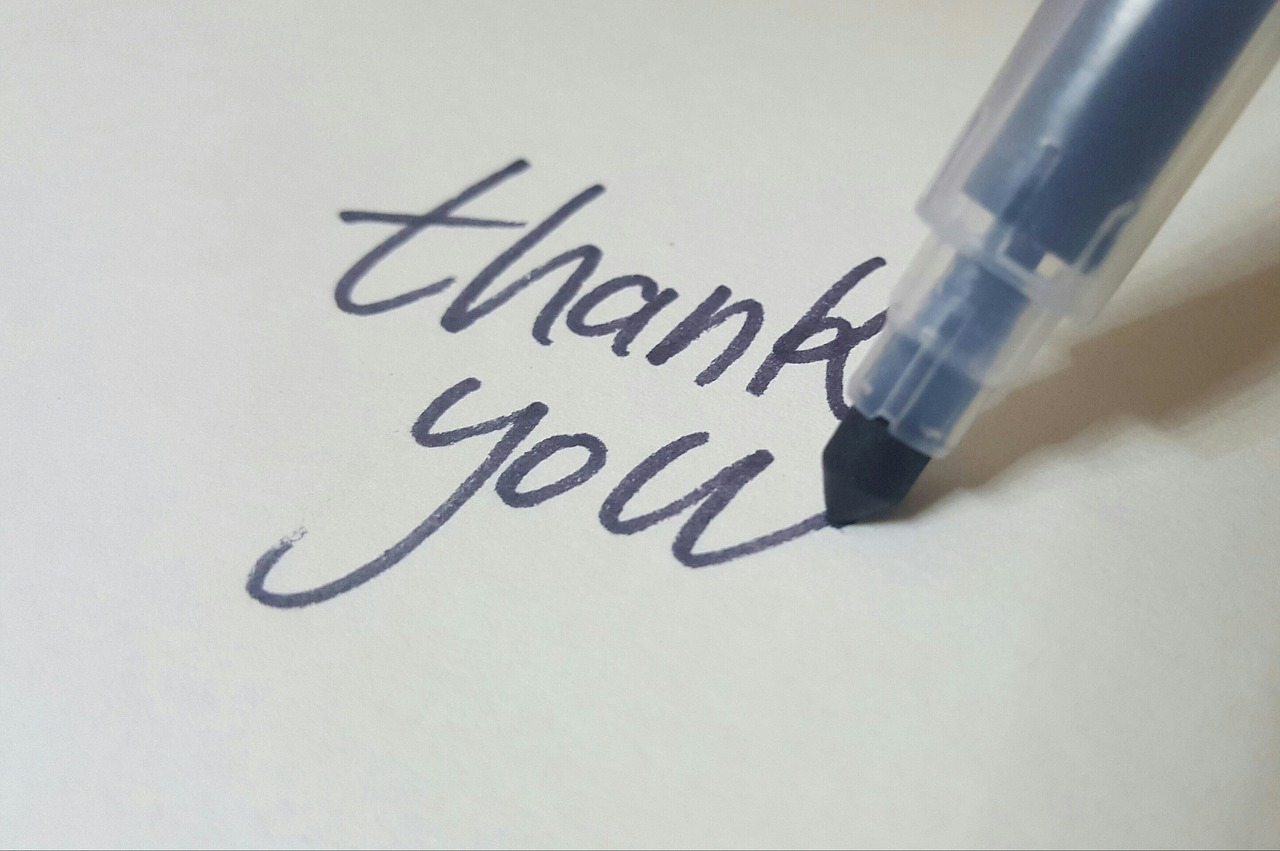 """Say: """"Thank you"""""""