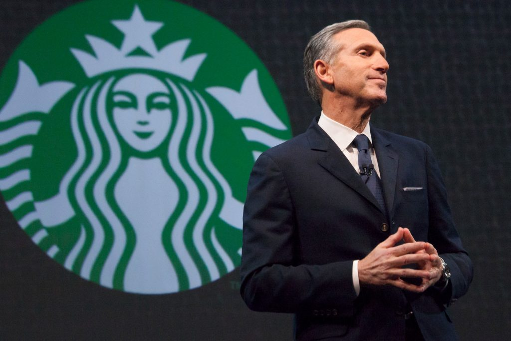 Former Starbucks head, Howard Schultz, one of a growing number of billionaires.