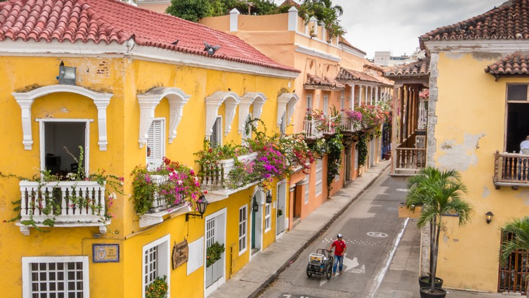 The walled city of Cartagena is among our favorite of the nearly last-minute Christmas destinations.
