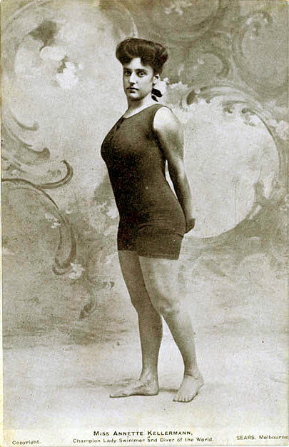 The First One Piece Swim Suit: Annette Kellerman