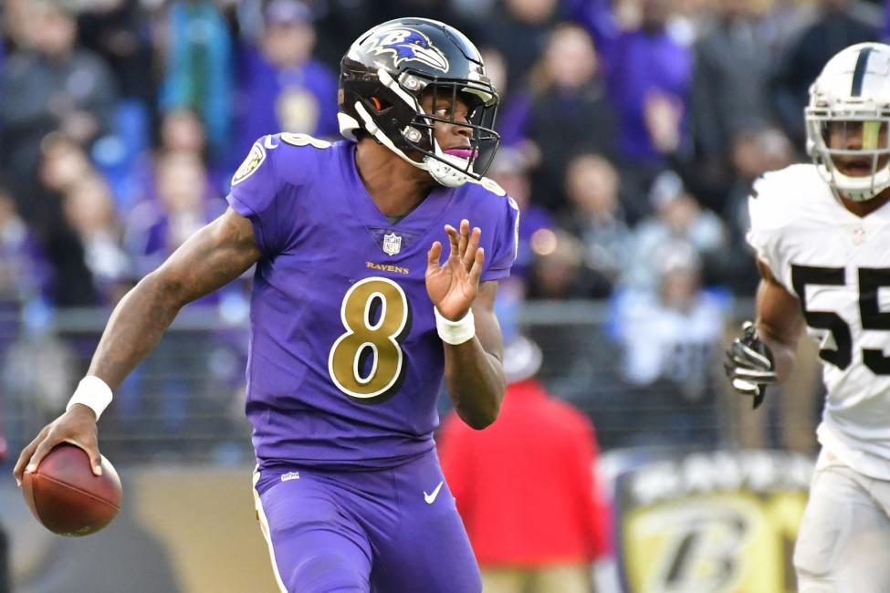 Ravens' quarterback Lamar Jackson. Gildshire Sports The most surprising of the top four early-season NFL surprises.