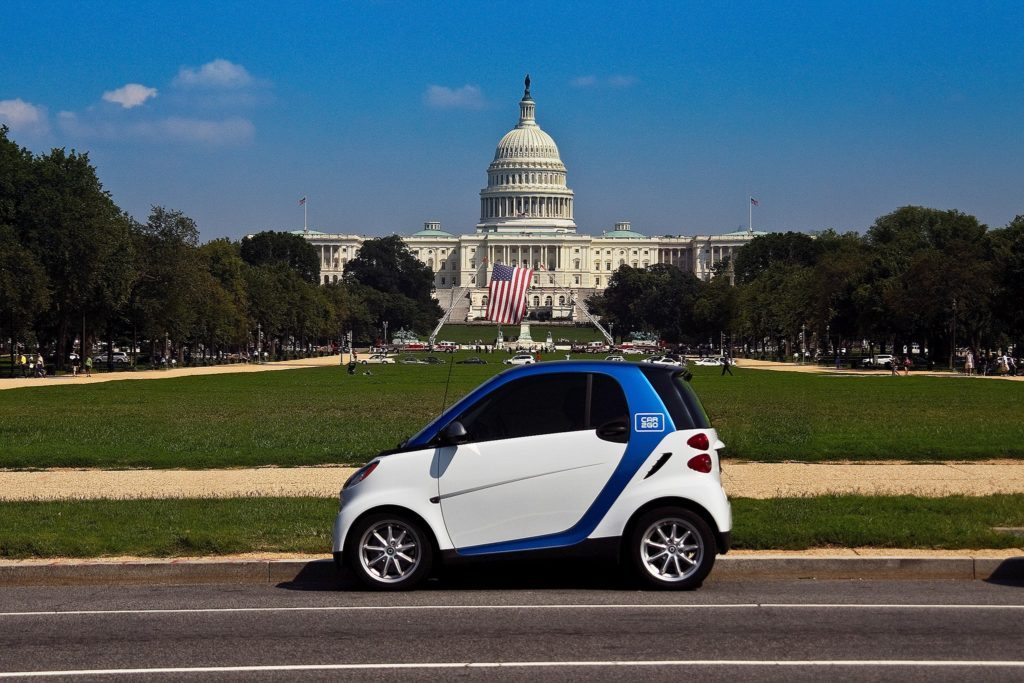 Car2Go is known for badged Smart Cars.