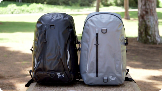 The TryVacay Floatable Backpack Blows It Out of the Water