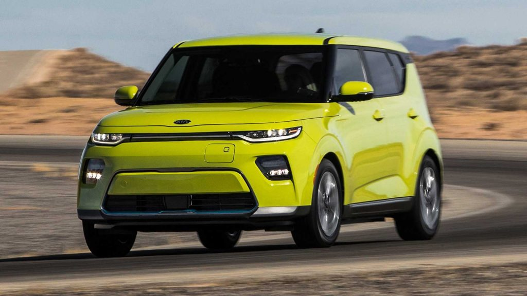 The all-electric Kia Soul (such as this one) will be herein 2021.