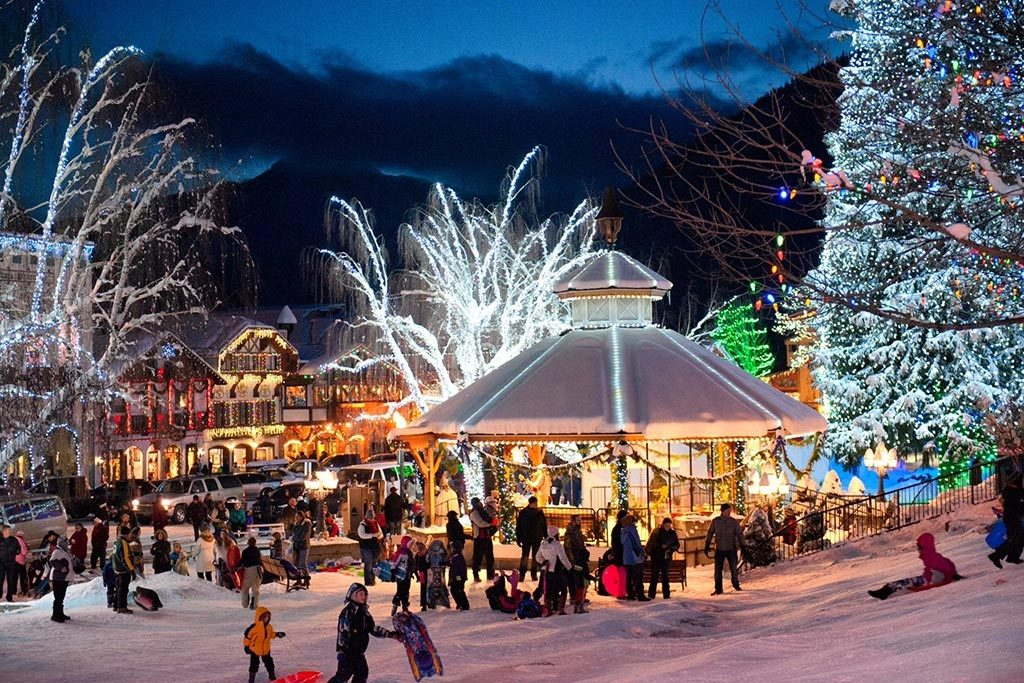 Leavenworth is magical year round, but it is breathtaking in December.